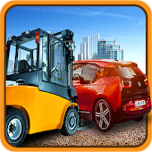 3D Extreme Heavy City Forklift