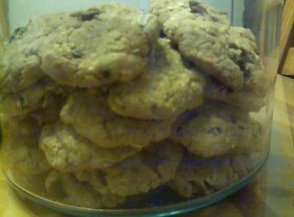Whole Wheat Oats Peanut Butter Choc. Chip Cookies Recipe
