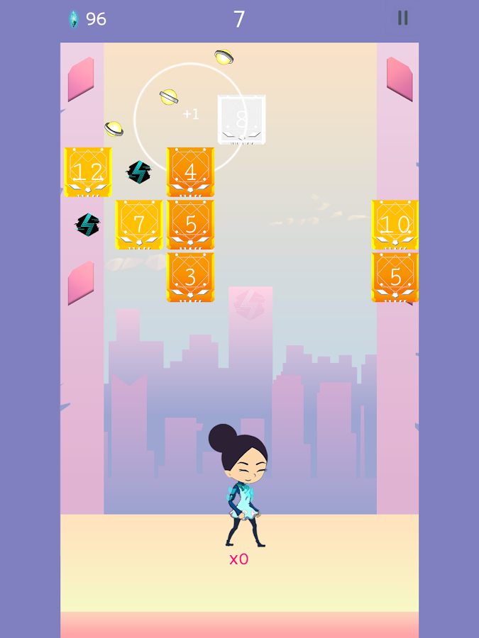 Where Blocks Fall by AppSir, Inc.- screenshot