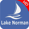 Lake Norman Offline GPS  Nautical Charts icon