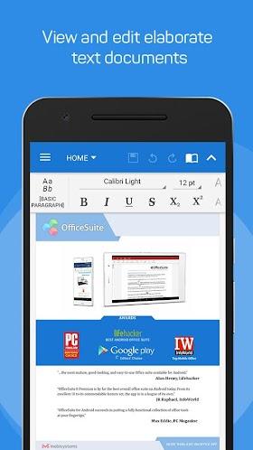 OfficeSuite + PDF Editor Premium 9.1.10071 APK
