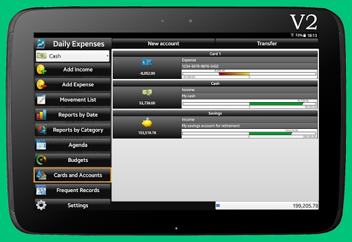 Daily Expenses License screenshots 13