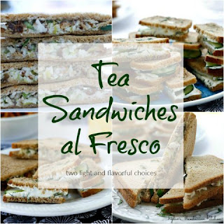 Tea Sandwiches al Fresco