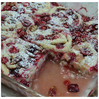 Rustic Cranberry-Orange-Pecan Cobbler Roll