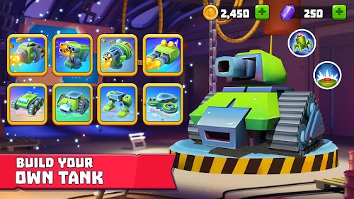 Screenshot 2 Tanks A Lot! - Realtime Multiplayer Battle Arena 1.30 APK MOD