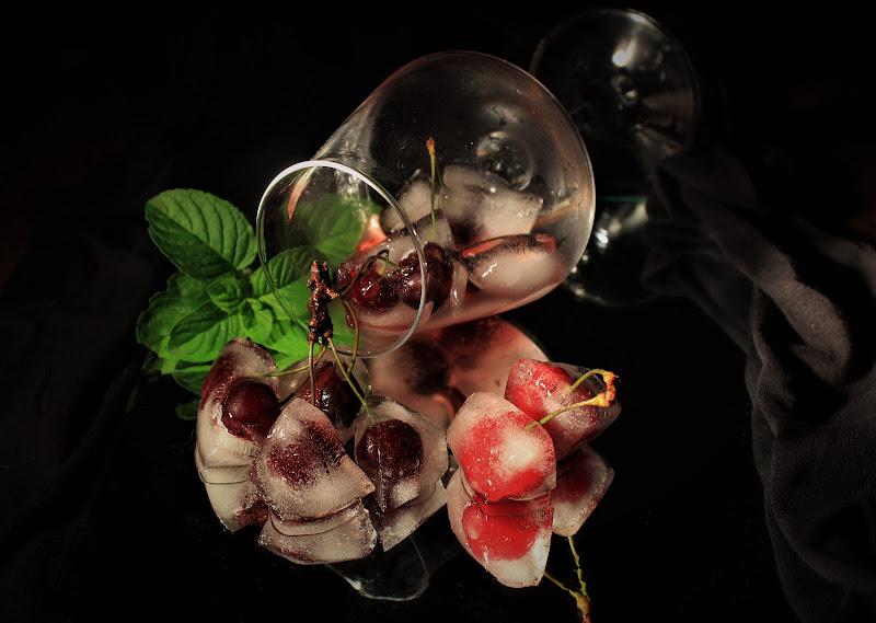 Fresche ciliegie con menta di yuna57