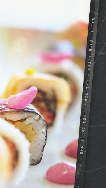 New Sushi Menu - Facebook Story Template