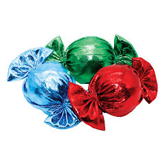Christmas Candy Cat Toys