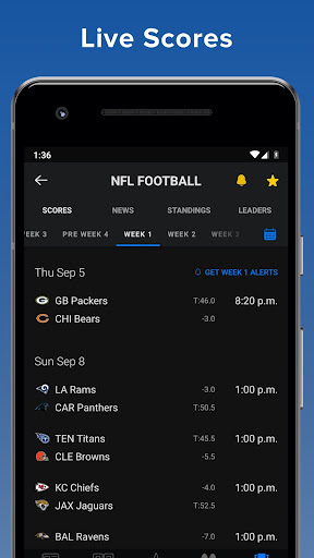 ScoreMobile for Android screenshot 1