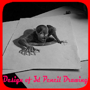 Design of 3d Pencil Drawing