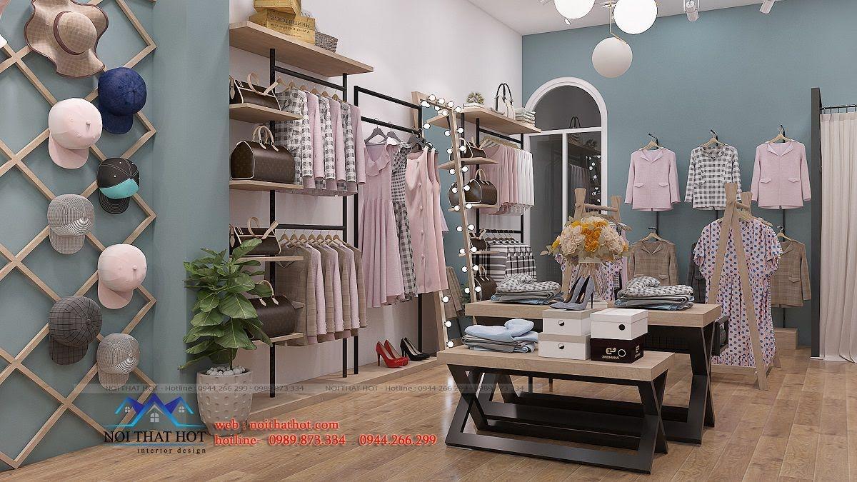 thiết kế shop thời trang nữ 2ce 5