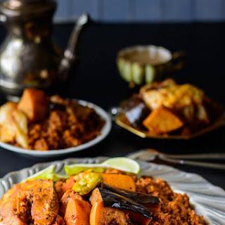 Senegalese Jollof Rice and Fish.