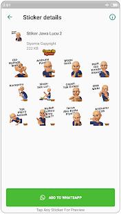 Download Stiker Jawa Lucu Terbaru Wastickerapps For Pc Windows And
