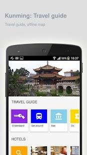 Kunming: Offline travel guide - náhled