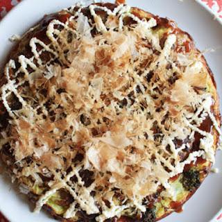 Okonomiyaki with Trotters.