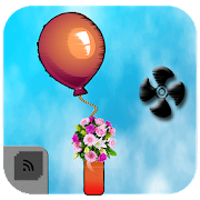 App Icon for Balloon fly With Fan to Collect Flower escape bomb App in Czech Republic Play Store