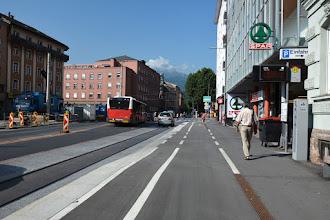 Photo: Przez kłopoty z rowerem odechciewa mi się zwiedzania miasta.