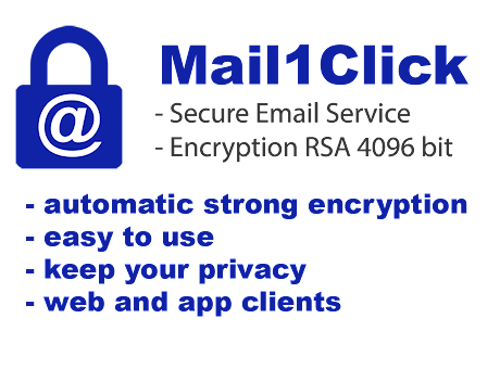 Mail1Click - Secure Webmail