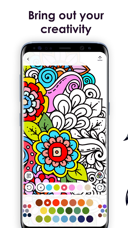 mycolorful coloring book for adults screenshot - Digital Coloring Book