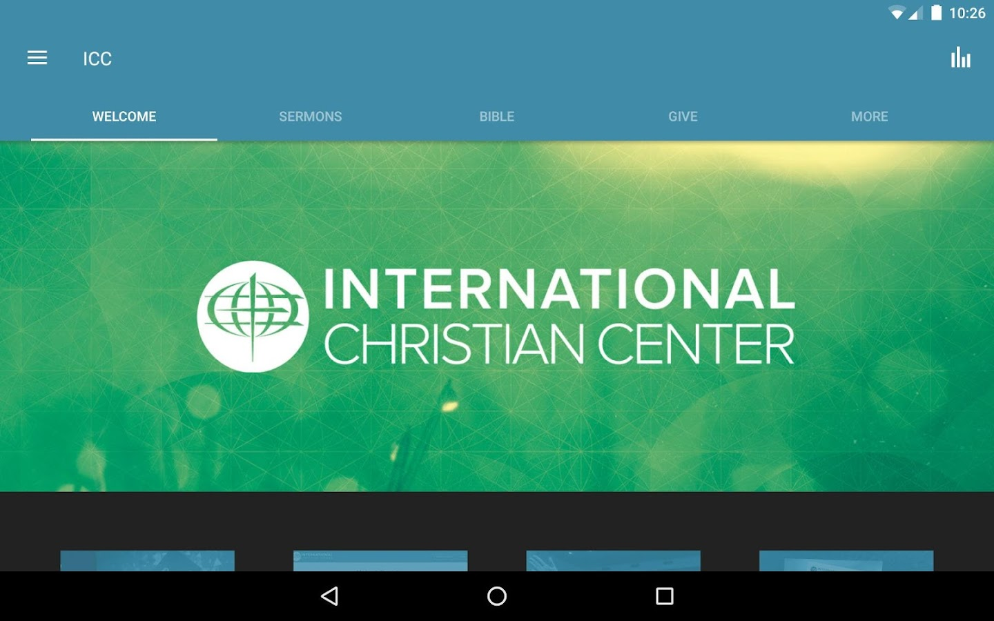 International Christian Center- screenshot