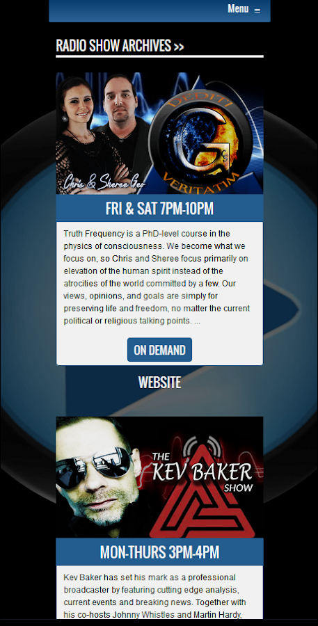 Truth Frequency Radio 2.0- screenshot
