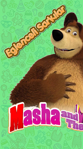 Masha and The Bear Number Saymayu0131 Learn (Child) 1.0 screenshots 1
