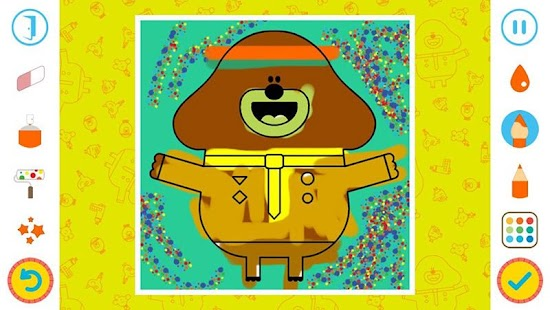 Hey Duggee Coloring- screenshot thumbnail