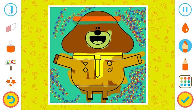 Hey Duggee Coloring- screenshot