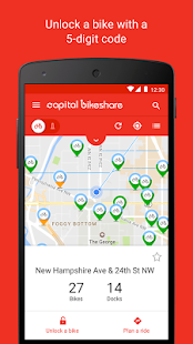 Capital Bikeshare- screenshot thumbnail