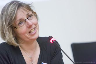 Photo: Sylvie Retailleau, doyen de la faculté des sciences d'Orsay, université Paris-Sud- Photo Olivier Ezratty