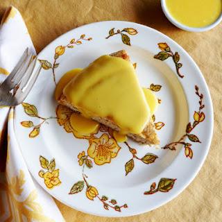 Almond Sponge Cake.