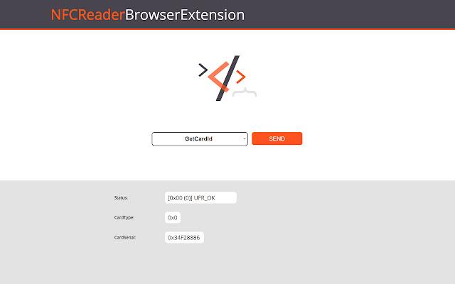 NFC Reader - Browser Extension