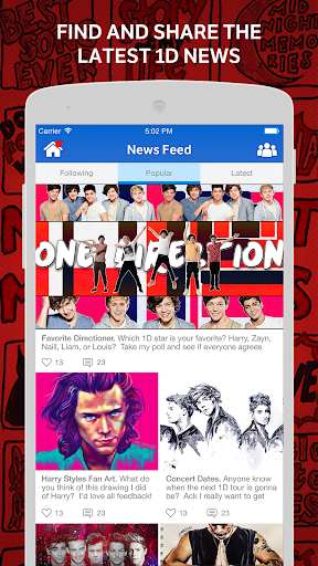 Directioners Amino for 1D Fans