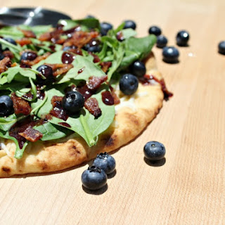 Savory Bacon and Blueberry Pizza Recipe