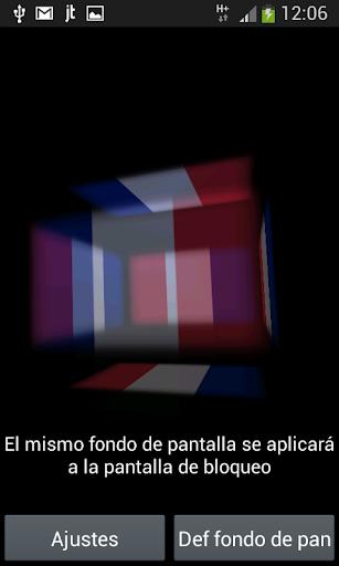 France Fond d'écran 3D