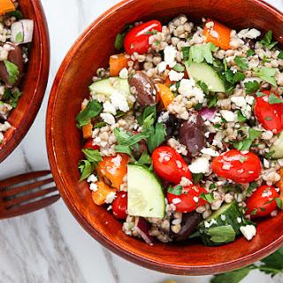 Mediterranean Buckwheat Salad.