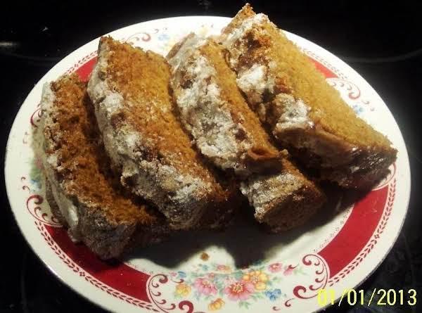 Strusel Topped Pumpkin Bread-cake...2 Loaves