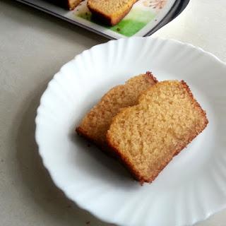 Egg-less Mawa Cake.