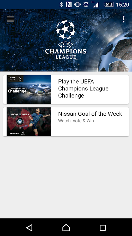 Xperia Lounge (entertainment)- screenshot