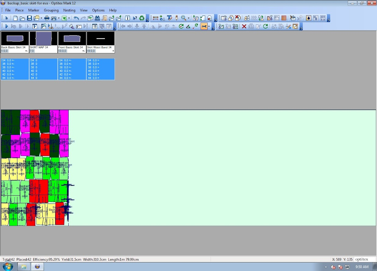 Hướng Dẫn Cách Cắt Sơ Đồ In Quá Khổ Giấy Trên Optitex Marker 11