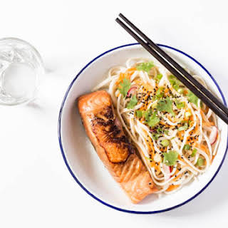 Salmon Rice Noodles Recipes.