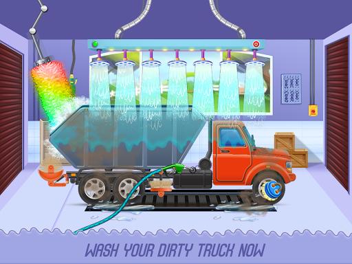 Kids Truck Adventure: Road Rescue Car Wash Repair  screenshots 2