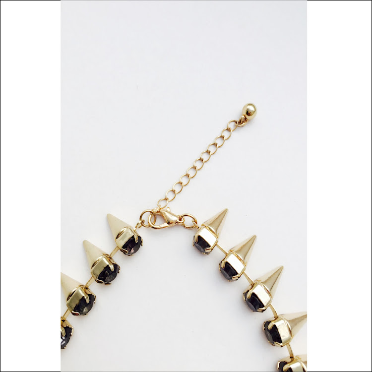 N025 - G. Lance Dual tone Necklace