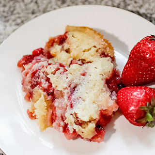 Fresh Strawberry Cobbler - 6 Weight Watchers SmartPoints.