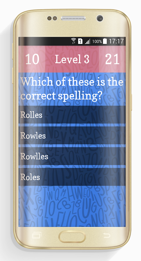 Ultimate English Spelling Quiz- screenshot