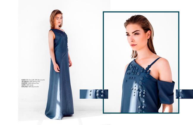 Дизайнер Бабетта Сперлинг разработала новый материал для одежды
