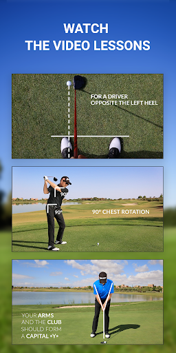 15 Minute Golf Coach - Video Lessons and Pro Tips screenshots 2