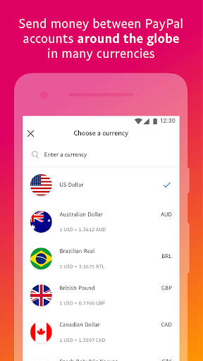 PayPal Mobile Cash: Send and Request Money Fast 7.28.1 Screenshots 6