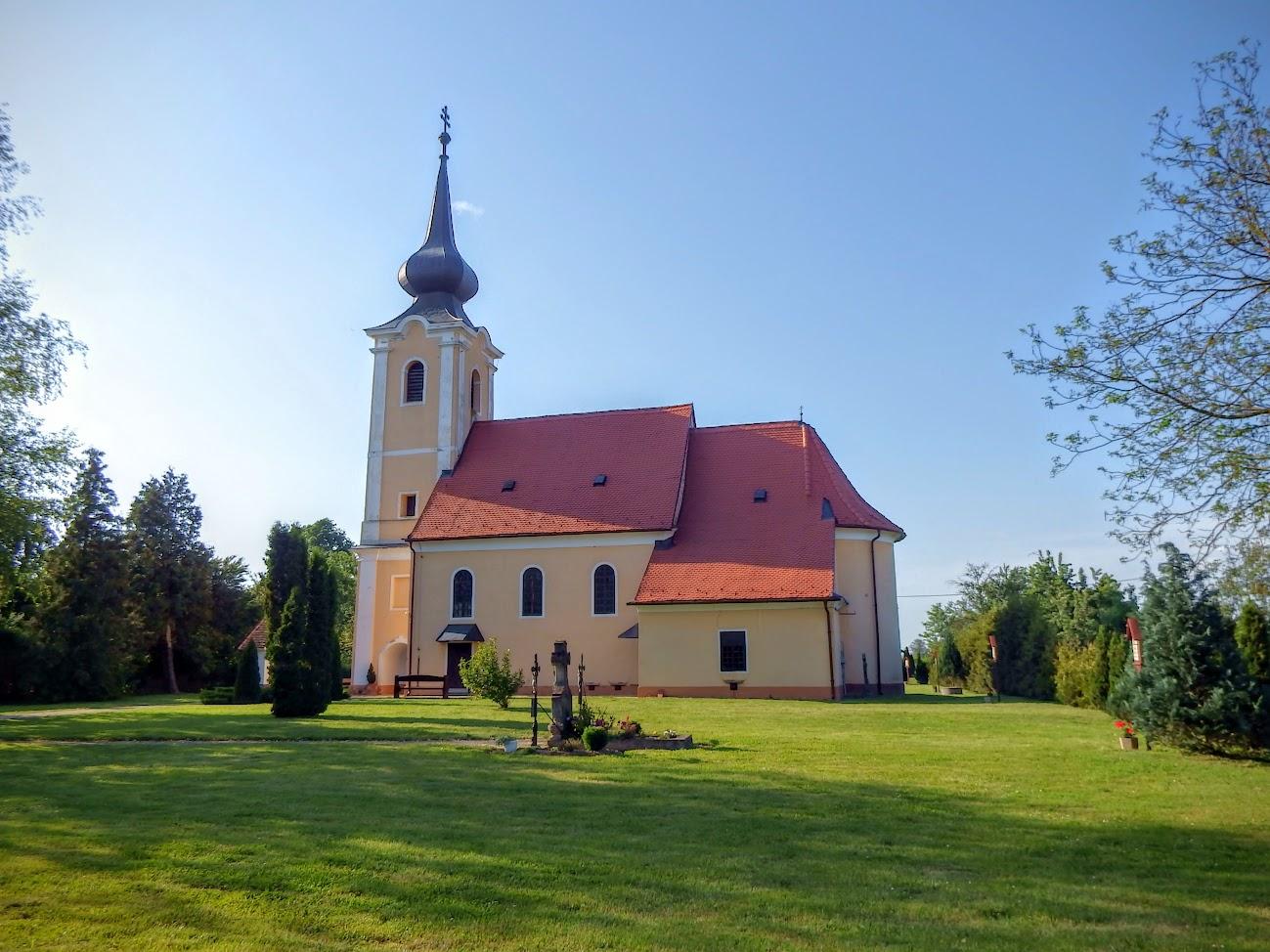 Körmend-Horvátnádalja - Szentlélek rk. templom