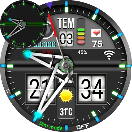 Fs S.E.F.F Watch Face For WatchMaker App